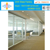 modern commercial automatic interior glass sliding doors