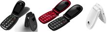 gsm telefono flip, dual sim cell phone with Italian langage