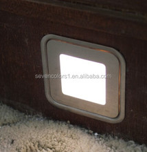 Wood furniture waterproof -IP67 Ultra thin 9mm Square shape led light