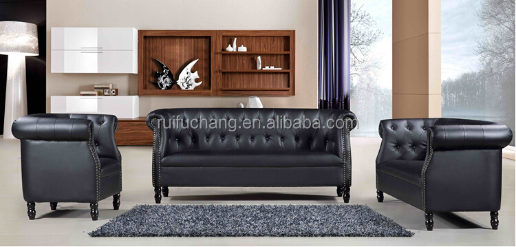 Bonded Leather Modern Sofa Set Nautica Burma Teak Solid Wood Home Styles Furniture Buy Home