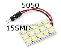 Automative high quality PCB 15SMD 5050 12V 5W mini solar panel for led light