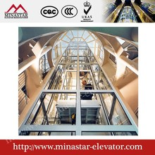 Beautiful View Panoramic Lift Details in China/Scenic Lift/Glass Lifts
