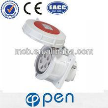 High quality QX217 4-pin industrial power plug