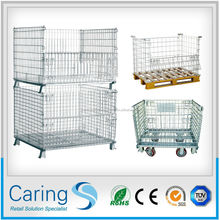 warehouse storage stainless steel wire mesh cage