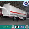2015 Hot! 42000 liters steel petrol tanker semi trailer truck steel fuel tanks for Africa