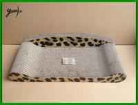 Leopard Corrugated Cardboard Cat Scratcher Lounge Cat Scratcher Board Sofa