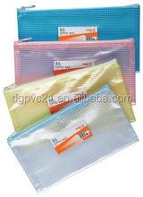 Hot selling cartoon PVC pen bag/PVC pencil bag/ PVC zipper pouch