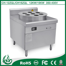 Freestanding steam commercial energy effcient induction rice steamer cooker with 24 dishes