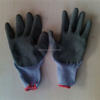 latex coated work glove/guard and safety equipment