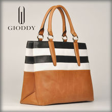 Top layer leather Stock available 2015 new hotsale top fashion export handbag