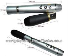useful presentation metal pen with red laser light usb flash memory 4gb