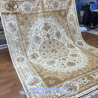 top quality turkish design 220x310cm 260lines oriental handmade silk persian handknotted chinese rug for sale