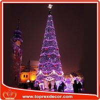Festival giant led christmas tree ornament Christmas decoration