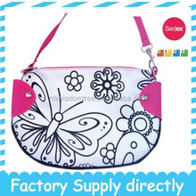 New Fashion Butterfly Pattern Bag has Hand, DIY Drawing Hand Bag