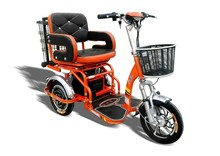 Electric Handicapped Scooter with Three Wheels