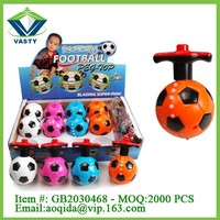 plastic spin top with music & led spin top
