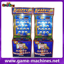 Happy Basketball coin operated basketball shooting redemption game machine