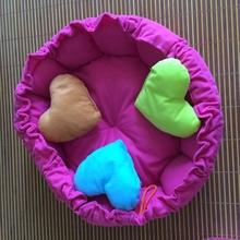 Drawstring pumpkin kennel dog bed/ monochromatic doghouse