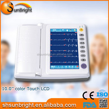 FDA and CE approved Digital ECG Machine 12 Channel 12 lead