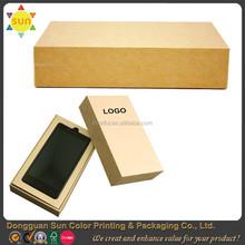 Custom mobile phone storage box cell phone box empty mobile phone box wholesale