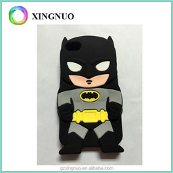 Cool 3d batman silicone case for iphone 4
