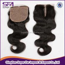 Texture of hair accessories brazilian wavy closure