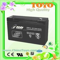 Emergency light battery/Sealed Lead acid battery /6V12AH Deep Cycle Battery