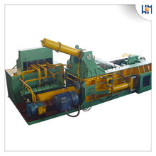 Scrap metal recycling machine