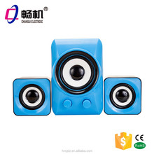 new products 2015 2.1 USB portable Mini speakers