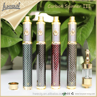 Best Dry herb smoke device 1600mah original Carbon spinner 3 In stock