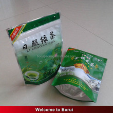 stand up dry fruit/tea packaging with colorful design