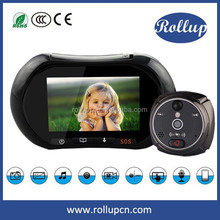 smart home color TFT LCD 2 MP doorbell with camera,night vision video door phone