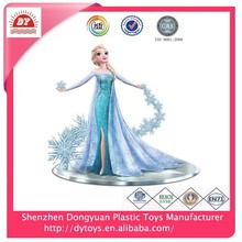 ICTI audited factory custom 3d mini elsa plastic figurine