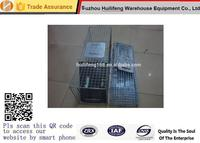 Folding Collapsible One-Door Live Animal Cage Trap for Raccoon Stray Cat Groundhog Opossumand Armadillos