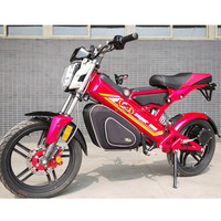 United States Vespa Electric Motorcycle 1500W Brushless Engine 28AH