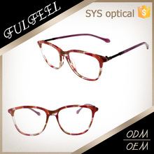 Latest italy design acetate reading glasses,eye defend glasses for girls