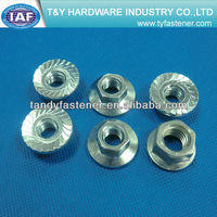 Hexagon Nuts With Flange Metric Fine thread
