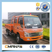 Widely used factory supply kama rhd double cabin light trucks for sale with good price