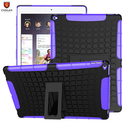 """New arrival 2 in 1 shock proof Rugged armor TPU PC hard back combo case hybrid case for iPad Pro 12.9"""""""