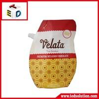 reusable stand up pouch/reusable spout pouch/reusable pouch with spout