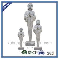 sandstone india standing buddha statue decoration