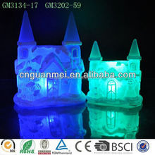 Glass snowhouse wholesale christmas ornament suppliers