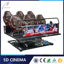 Lechuang Easy High Income 3D Glasses 4D Driving Simulator
