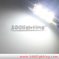 LED BULB Festoon C5W CANBUS 6 LED 5730SMD led car light factory offer best price 3 days delivery