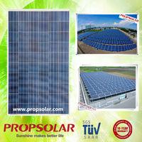 Propsolar TUV standard 250 watt 30v solar cells panel 250w inverter plus pv module