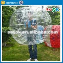High quality cheap soccer bubble footballs bubble ball suit