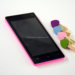 ultra slim 4.5 inch 2sim 2cores mtk6572 3g android smart phone