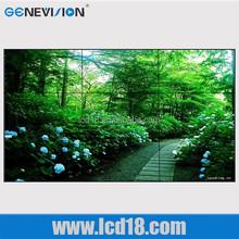 55 inch Ultra narrow bezel seamless Full HD vga dvi sdi input bezel lcd video wall