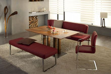 Modern Dining table and chair bench