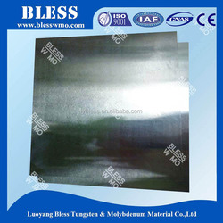 hot rolled molybdenum sheet/plates 99.95% with high temperature
